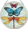 Amia 42540 Enchanted Wing 2 Medium Circle Suncatcher