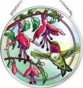 Amia 42546 Ruby Dance Small Circle Suncatcher
