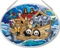 Amia 42553 Noah's Ark Medium Oval Suncatcher