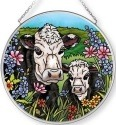 Amia 42703 Pasture's Edge Medium Circle Suncatcher