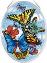 Amia 42772 Blue Skies Medium Oval Suncatcher
