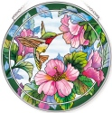 Amia 42785 Pretty in Pink Large Circle Suncatcher
