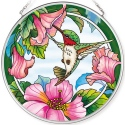 Amia 42786 Pretty in Pink Medium Circle Suncatcher