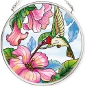 Amia 42787 Pretty in Pink Small Circle Suncatcher