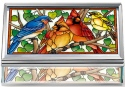 Amia 42808 Wild Birds Co op Jewelry Box