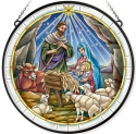 Amia 42810N Jesus Is Born Jumbo Circle