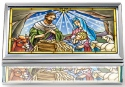 Amia 42816N Jesus Is Born Jewelry Box