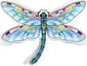 Amia 42826 Blue Dragonfly Magnets