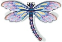 Amia 42827 Purple Dragonfly Magnets