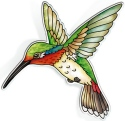 Amia 42828 Ruby Throated Hummingbird Magnet