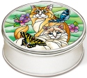 Amia 42850 Feline Flirtations Jewelry Box