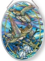 Amia 42866 Sea Tranquility Medium Oval Suncatcher