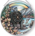 Amia 42890 Follow the Path of the Bear Large Circle Suncatcher
