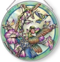 Amia 42892 Hummer Wind Large Circle Suncatcher