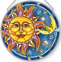 Amia 42893N Sun & Moon Large Circle Suncatcher