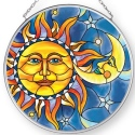 Amia 42903N Sun & Moon Medium Circle Suncatcher