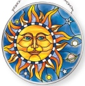 Amia 42908N Celestial Small Circle Suncatcher
