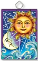 Amia 42922 Celestial #2 Rectangle Suncatcher