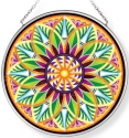 Amia 42962 Fiori Del Sol Sunflower Medium Circle Suncatcher