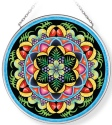 Amia 42963 Carmen Miranda Medium Circle Suncatcher