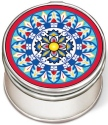 Amia 42967 Calamari Friti Petite Circle Jewelry Box