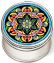 Amia 42969 Carmen Miranda Petite Circle Jewelry Box