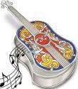 Amia 5209 Spanish Guitar Jewelry Box