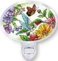 Amia 5248 Hummingbird Garden N Bloom Night Light Nightlight
