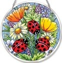 Amia 5262 Ladies In Red Large Circle Suncatcher