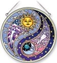 Amia 5320 Yin Yang Large Circle Suncatcher