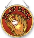 Amia 5330 Playball Medium Circle Suncatcher