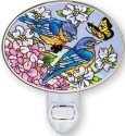 Amia 5424 Blue Skies Bluebirds Night Light