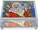 Amia 5446 Yes Virginia Santa Small Jewelry Box