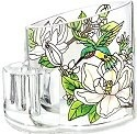 Amia 5754 Still Magnolias Pencil Holder