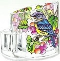 Amia 5757 Grapevine Bluebird Pencil Holder