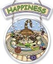 Amia 5768 Happiness 2 Piece Suncatcher