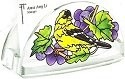 Amia 5778 Grapevine Goldfinch Business Card Holder