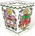 Amia 5799 Gingerbread Cookies Petite Votive Holder