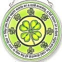 Amia 5840 Irish 2 Medium Circle Suncatcher