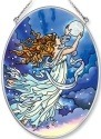 Amia 6245 Moon Fairy Medium Oval Suncatcher
