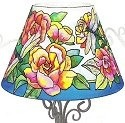 Amia 6317 Nature's Classic Beauty Candle Lamp - Shade Only