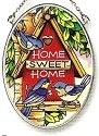 Amia 6793 Home Sweet Home Small Oval Suncatcher