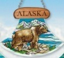 Amia 7422 Alaska Grizzly Bear Suncatcher