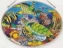 Amia 7741 Tropical Fish Large Oval Suncatcher