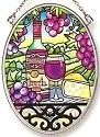 Amia 7815 Great Vintages Small Oval Suncatcher