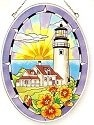 Amia 7837 Cape Cod Medium Oval Suncatcher