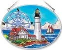 Amia 7840 Portland Head Medium Oval Suncatcher