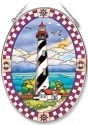 Amia 7851 St Augustine Lighthouse Large Oval Suncatcher