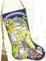 Amia 8150 Nativity Stocking Suncatcher