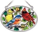 Amia 8349 For The Birds Small Oval Suncatcher
